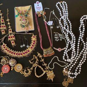 Jewelry - Indian Jewelry bundle 17 piece lot